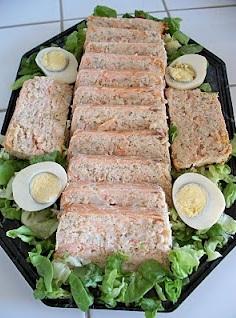 pain de saumon et crevettes une recette fraiche et. Black Bedroom Furniture Sets. Home Design Ideas