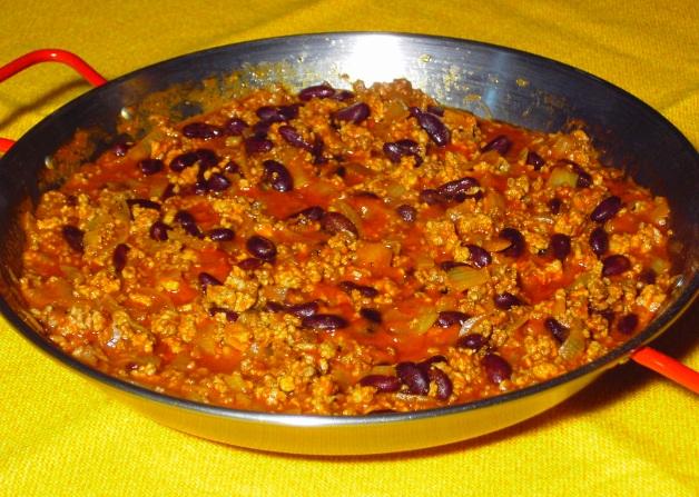 La recette du chili con carne nous envoie sur le continent - Recette chili cone carne thermomix ...