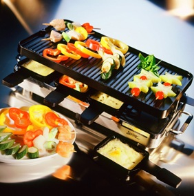 Raclette-de-l%C3%A9gume idées raclettes dans Cuisine