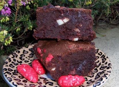 La recette originale des Brownies aux pralines pour se consoler d'un été pluvieux dans Cuisine Brownies-aux-pralines